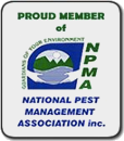 Proud Member of NPMA - National Pest Management Association